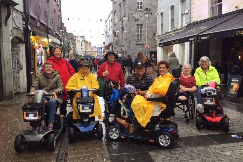 Cruise Planners home-based travel agent Debra Kerper travels with a group in in Ireland