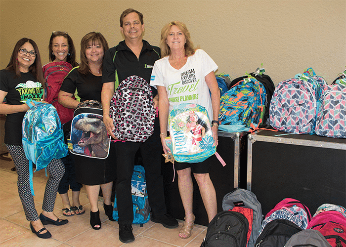 How Cruise Planners Gives Back