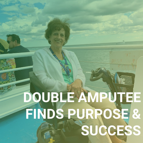 Double Amputee Finds Purpose and Success as a Home-Based Travel Agent