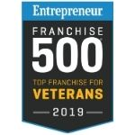 Entrepreneur Top Franchises for Veterans 150x150