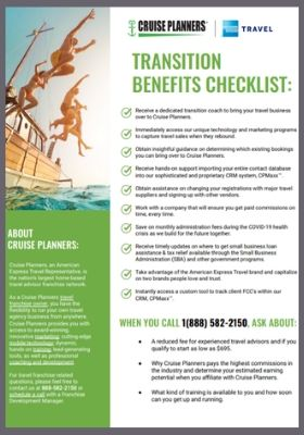 Transition Benefits Checklist cover sized 280x400
